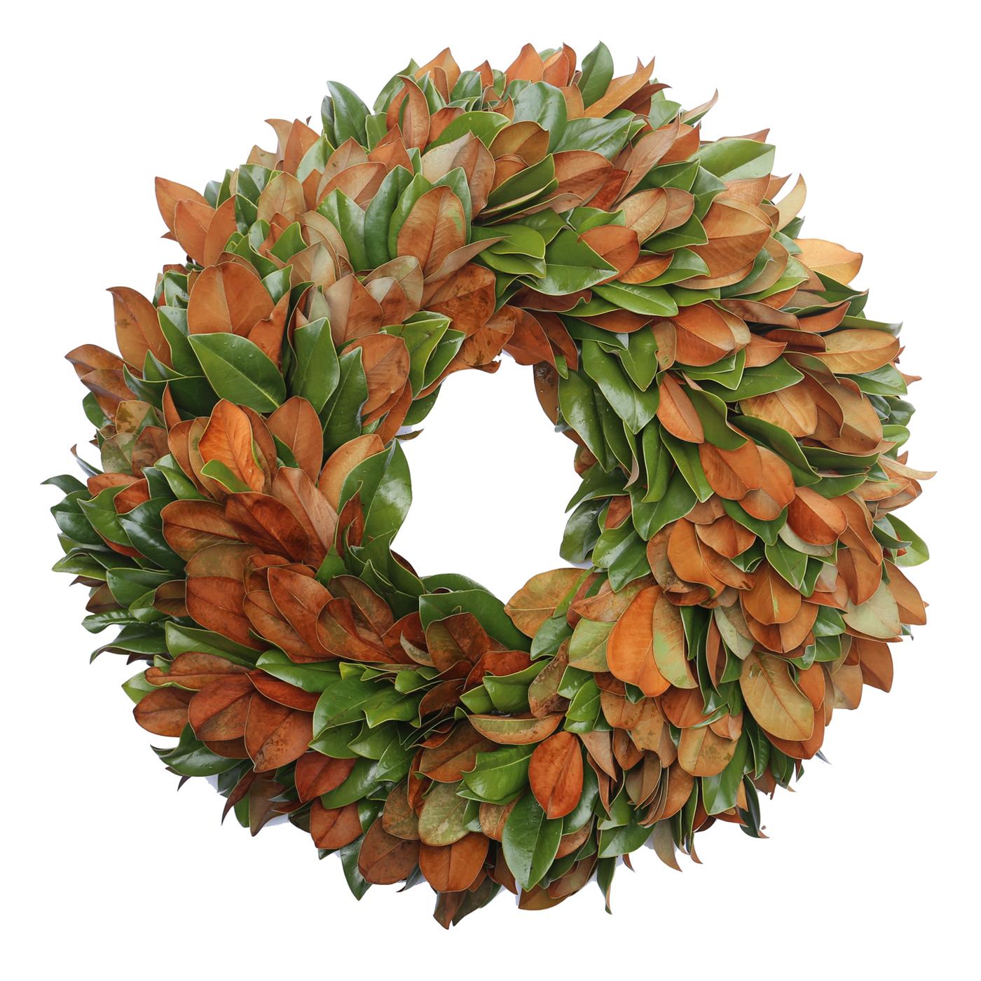 """Brown Velvet 36"""" Wreath"""